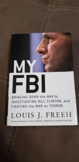 Hardcover: My FBI . Excellent Condition