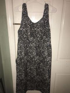 Black and silver dress!