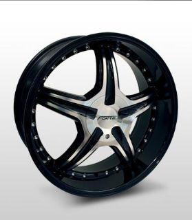 "Find 17x7.5 Forte F46 ""D-Tox"" (Black Mirror) Wheel/Rim(s) 4x108 4-108 4x4.25 17-7.5 motorcycle in Cincinnati, Ohio, US, for US $154.00"
