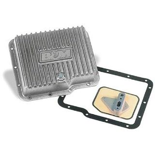 Find B&M 70280 Deep Aluminum Transmission Pan GM Powerglide Extra 2 Quarts motorcycle in Suitland, Maryland, US, for US $134.83