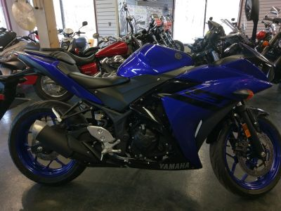 2018 Yamaha YZF-R3 SuperSport Motorcycles Phillipston, MA
