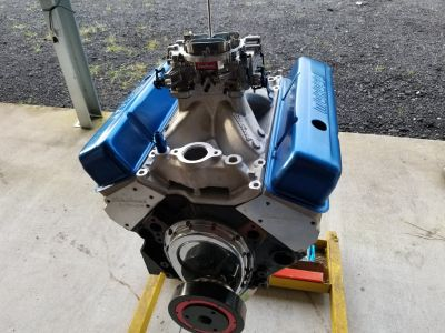 SBC race engine