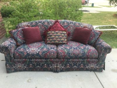 Very comfortable sofa in excellent condition.