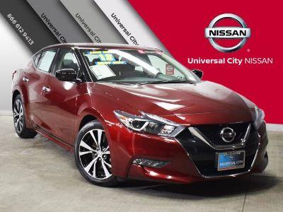 2018 Nissan Maxima S (carnelian red)