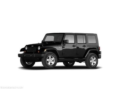 2008 Jeep Wrangler Unlimited Sahara (blackq)