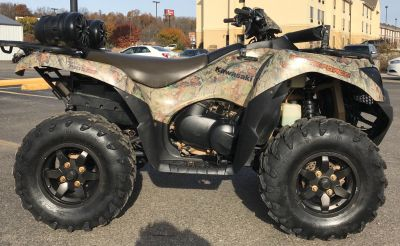 2014 Kawasaki Brute Force 750 4x4i EPS Camo Utility ATVs Cambridge, OH
