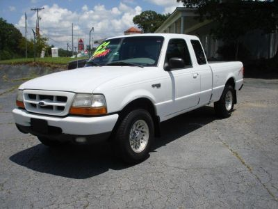 1999 Ford Ranger XL (WHI)