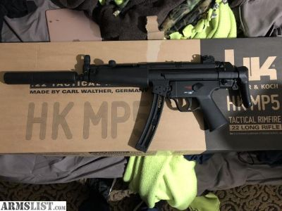 For Sale/Trade: HK licensed MP5 .22