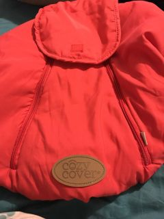 Infant car seat cover- cover only
