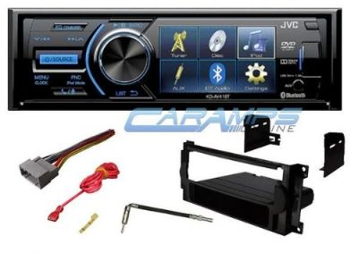 "Find NEW JVC STEREO RADIO W/ 3"" DISPLAY & CD/DVD PLAYER & BLUETOOTH W/ INSTALL KIT motorcycle in Salt Lake City, Utah, United States, for US $209.95"