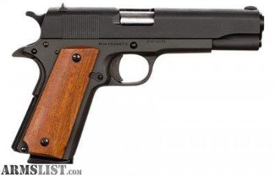 For Sale: Rock Island 1911 GI Standard FS .45 ACP