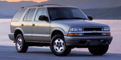 2004 Chevrolet Blazer LS (Light Pewter Metallic)