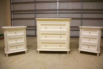 Dresser and nightstands