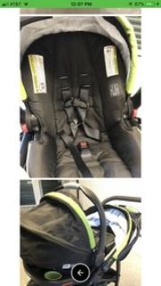 Graco fast action click connect jogger