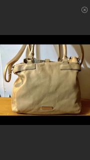 Steve Madden Sand Leather Tote