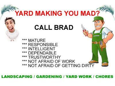 Landscaping, Weeds, Planting, Trimming, Yard Work, Gardening, Chores