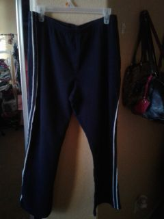 Cute soft stretchy black pants size XL $2
