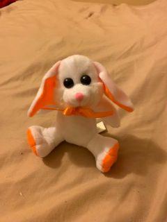 Orange and white bunny rabbit