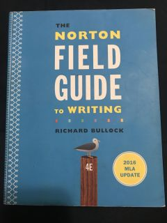 Norton s field guide to writing - 4th edition