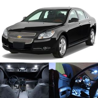 Sell LED White Lights Interior License Package Kit For Chevrolet Malibu 2008-2012 motorcycle in San Diego, California, United States, for US $21.99