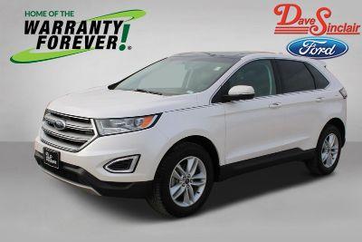 2018 Ford Edge SEL (White Platinum Metallic Tri-Coat - White)