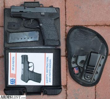 For Sale: Kel-Tec PF9 with extended magazine