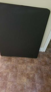 6ft card table black