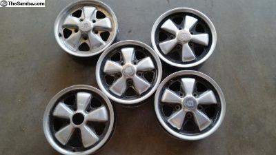 5 Porsche Fuchs 14 x 5 1/2