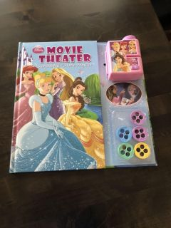 Disney Move Theater Storybook & Movie Projector