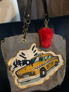 Like new adorable NYC Betsey Johnson purse