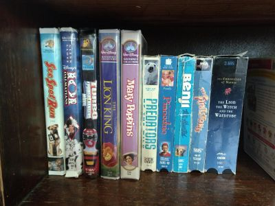 Movies DVD and VHS