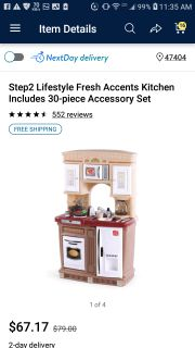 Step 2 play kitchen with real sounds!