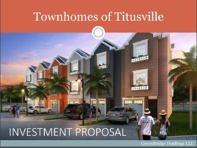 Multi-Family New Construction Developing Project! Great Opportunity for 56 Unit Townhomes in Florida