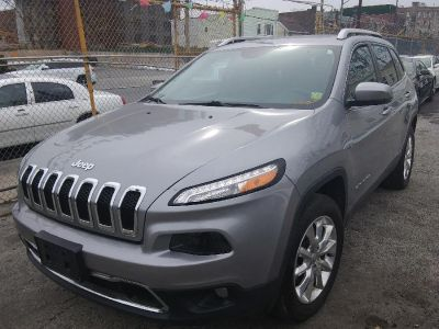2015 Jeep Cherokee 4WD 4dr Limited (Billet Silver Metallic Clearcoat)