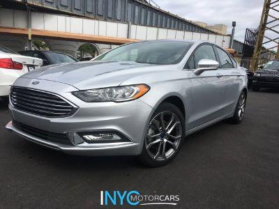 2017 Ford Fusion SE (Silver)