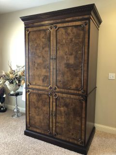 Large tv armoire/cabinet