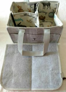 Baby Caddy Diaper Organizer & Changing Pad