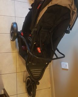 Double or single phil and Ted's with car seat adapter