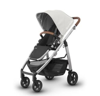 UPPABaby Cruz 2018 Stroller with Leather Handles in Loic-Like NEW-EUC