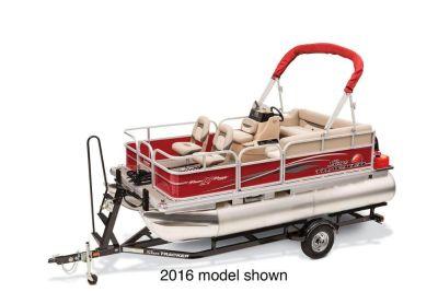 2017 Sun Tracker Bass Buggy 16 DLX Pontoon Boats Boats Gaylord, MI
