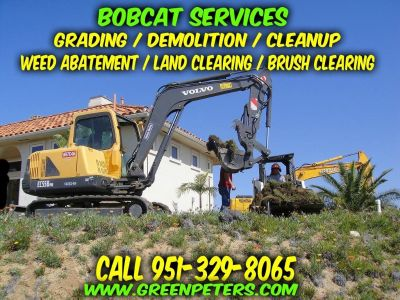 Land Clearing, Grading, Weed Abatement Services