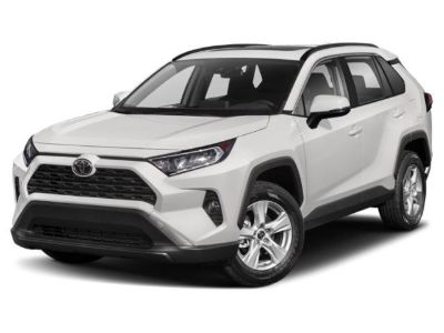 2019 Toyota RAV4 XLE Premium (White)
