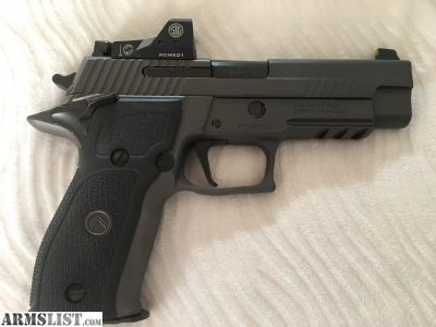 For Sale: Sig P226 S/A 9mm Legion