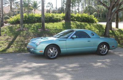 2002 Ford Thunderbird Deluxe (Teal)