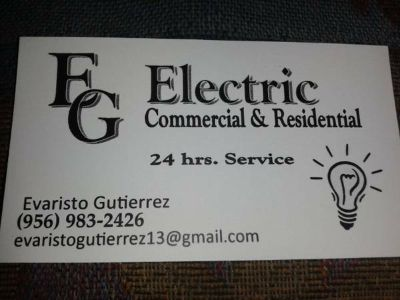 24HRS. SERVICES E.G. ELECTRIC (BROWNSVILLE TEXAS)