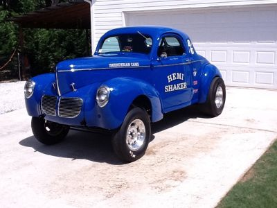 1940 WILLYS ALL STEEL COUPE and 2018 ENCLOSED TRAILER