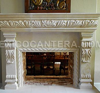 Cantera Fireplaces and Vent Hoods