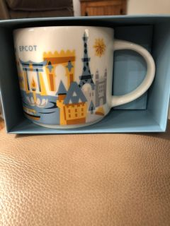 Starbucks you are here collectible mugs