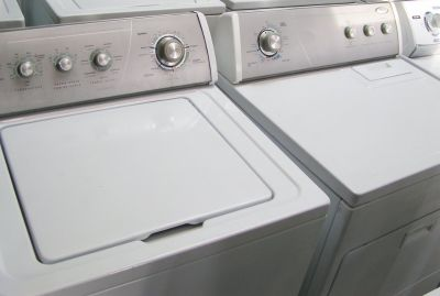 Washer and Dryer Silver Face Elite Set By Whirlpool