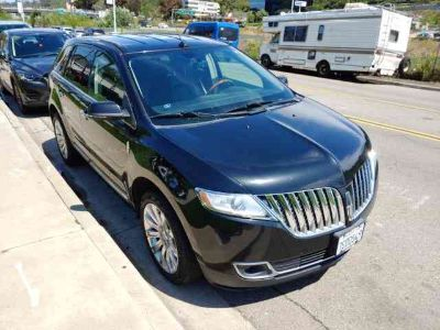 2014 Lincoln MKX Base w/Navigation/Leather & Backup Camera